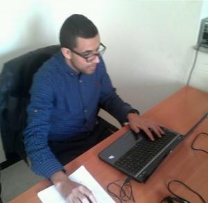 Berkane Kheireddine. Ingénieur de conception et de développement d'applications web à Présences Int